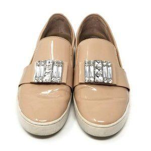 MICHAEL Michael Kors Michelle Faux Patent Sneaker